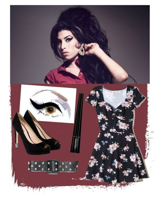 fantasia amy winehouse by gabrielle-bianchi on Polyvore featuring moda, Hollister Co., GUESS, Liquido, Amy Winehouse, Veja and Bo.Bô: