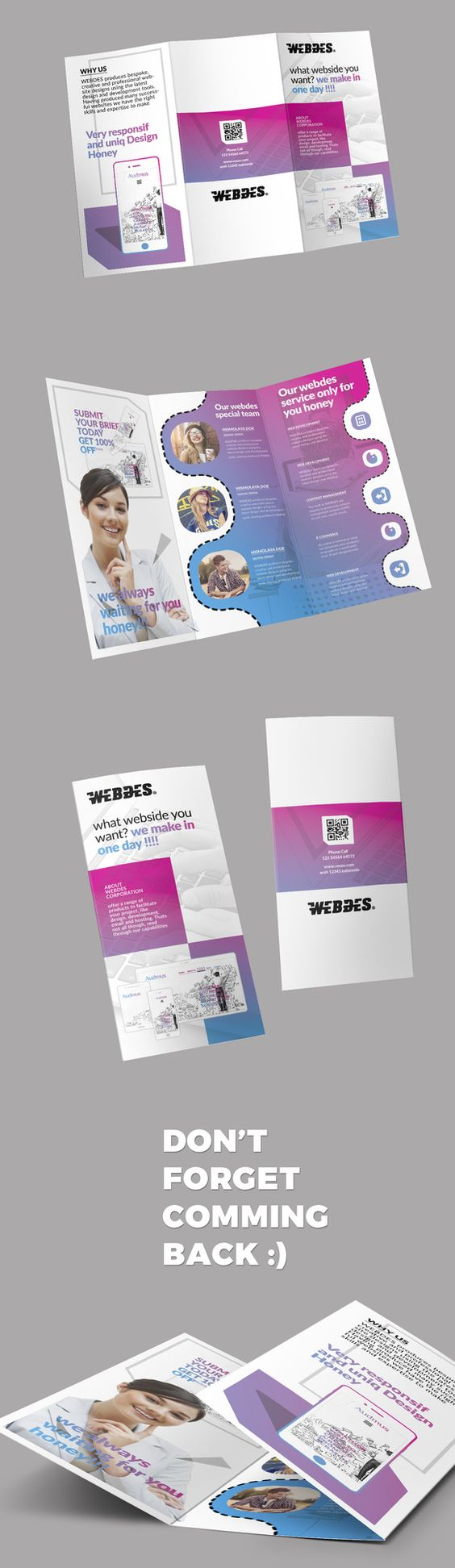 Trifold Brochure by @Graphicsauthor