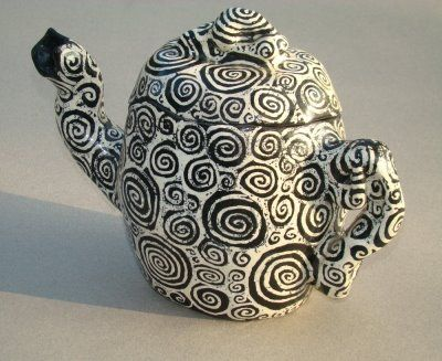 Spot of Spiral Tea by Christie Reynolds