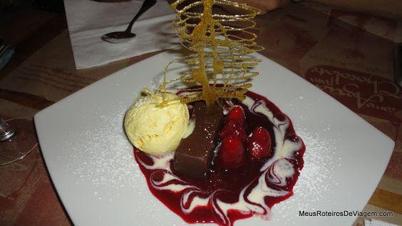 Marquise de Chocolate no Como Agua para Chocolate - Santiago, Chile