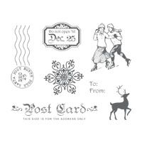 Winter Post Stamp Brush Set - Digital Download - by Stampin' Up!