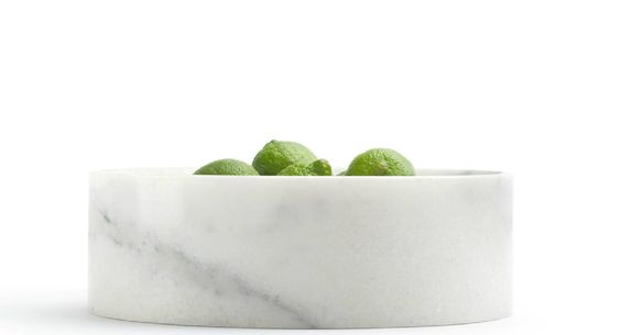 Beautiful marble container by Michael Verheyden for When Objects Work.