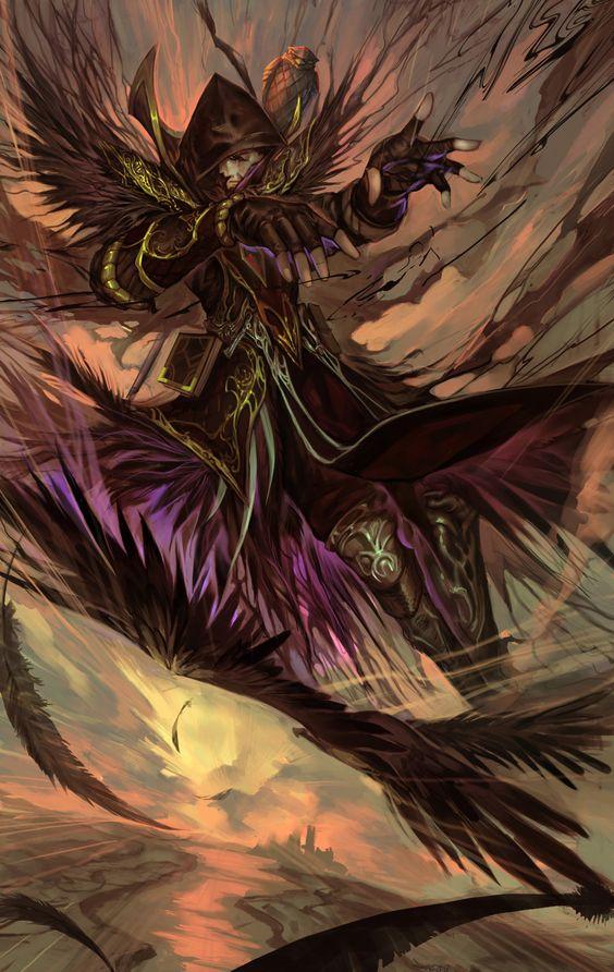 Illustration de Zhou Rong