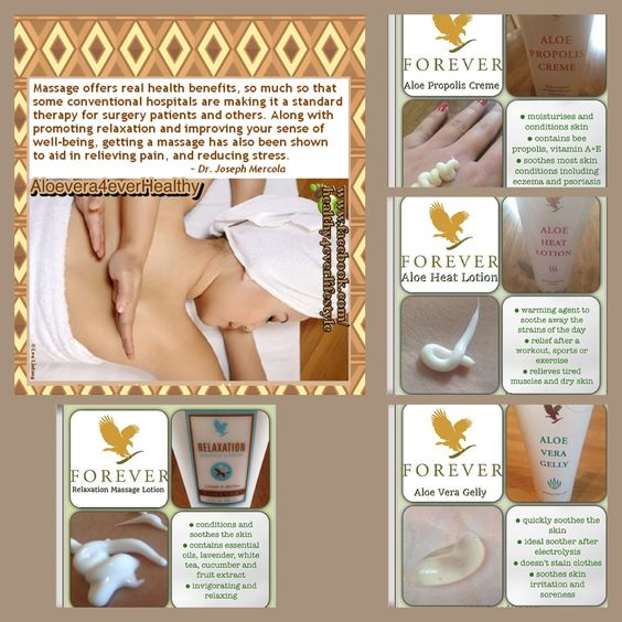 Unstress your body with the 4 massage products based on Aloe Vera. Click on the pic, the HOME button upmentioned and choose your country. Use the SEARCH machine to find your product.