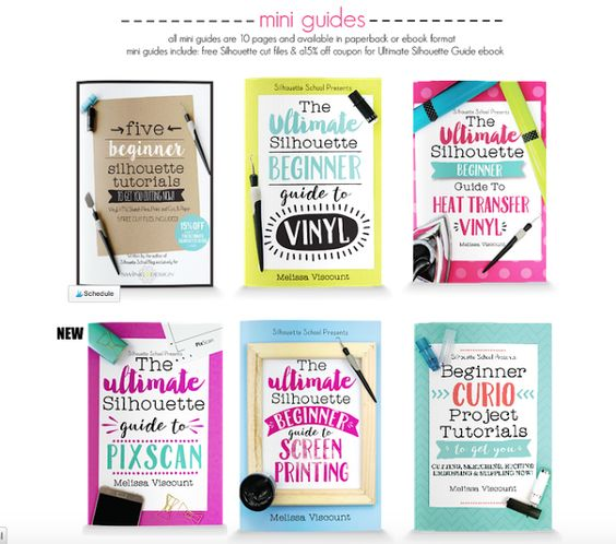 silhouette guides, silhouete cameo books, silhouette cameo books, silhouette cameo tutorials, silhouette cameo beginners, silhouette tutorials for beginners