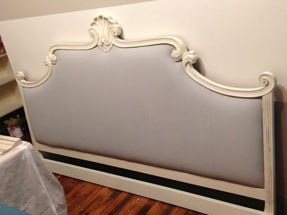 Chalk Paint On A Retro 80 39 S Headboard Suitepieces