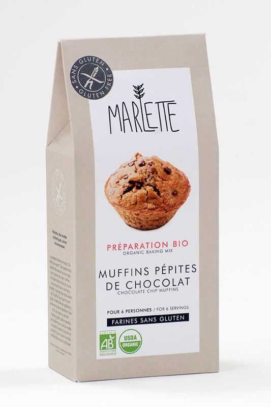 La box de janvier de #LaBoiteSansGluten >> http://bit.ly/1td4Zz1 Muffins_Marlette_Sans_Gluten_pépites_chocolat