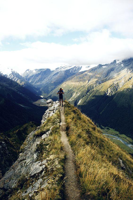 Mount Aspiring National Park/ Otago, New Zealand: