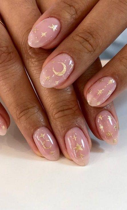 Stunning Star Nails Make You Cool In 2020 Star Nail Designs Best Nail Art Designs Chic Nail Art