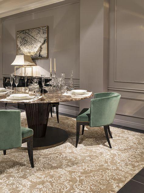 modern dining room | www.bocadolobo.com #bocadolobo #luxuryfurniture #exclusivedesign #interiodesign #designideas  #diningtable #luxuryfurniture #diningroom #interiordesign #table #moderndiningtable #diningtableideas