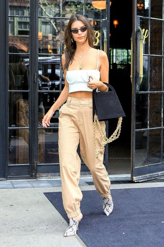 Celebrity Street Style Star of the Year: Emily Ratajkowski via @WhoWhatWearUK