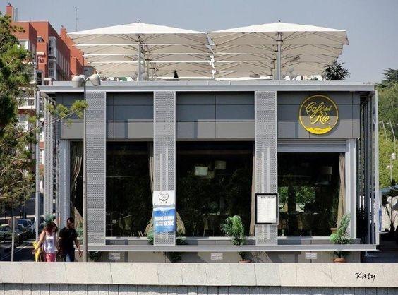 Café del Rio. Madrid Rio