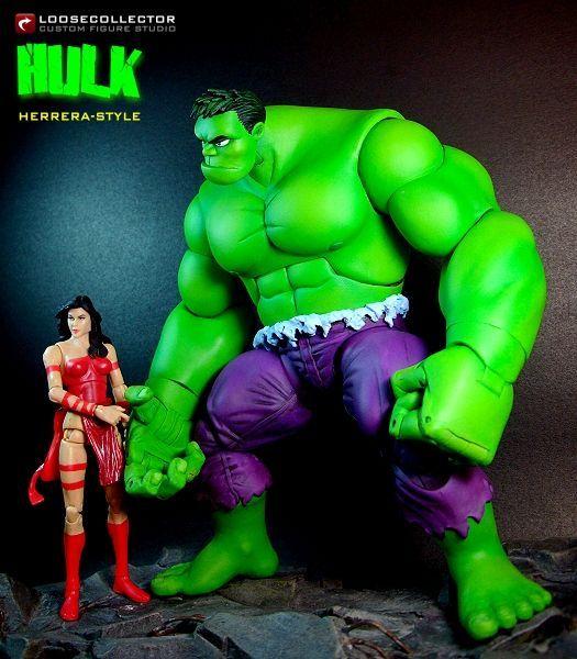 Hulk : Francisco Herrera Style (Marvel Legends) Custom Action Figure