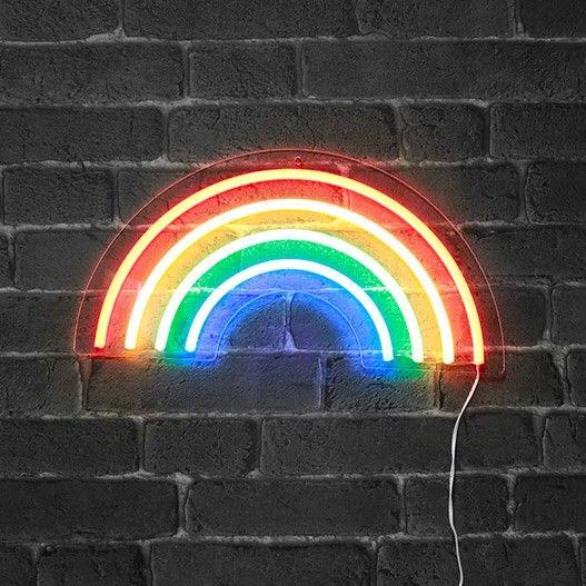Neon Arc en Ciel 40 cm (avec images)   Arc en ciel couleur, Arc en ...