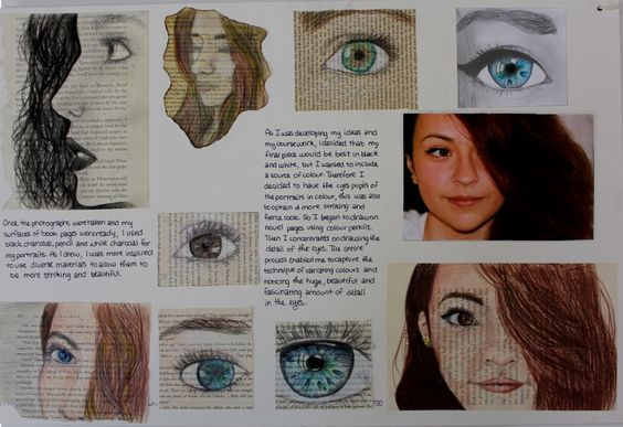 Igcse art coursework layout