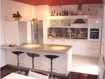 kuhinje po mjeri sa šankom - Google pretraživanje  Uredjenje prostora  Pint...