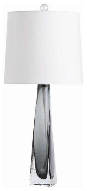 Errol Lamp, Blue contemporary-table-lamps