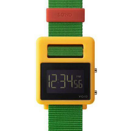 SOND Watch - Yellow/Green/Red: