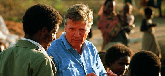 Karlheinz Böhm Gründer der Spendenorganisation MfM in Äthiopien