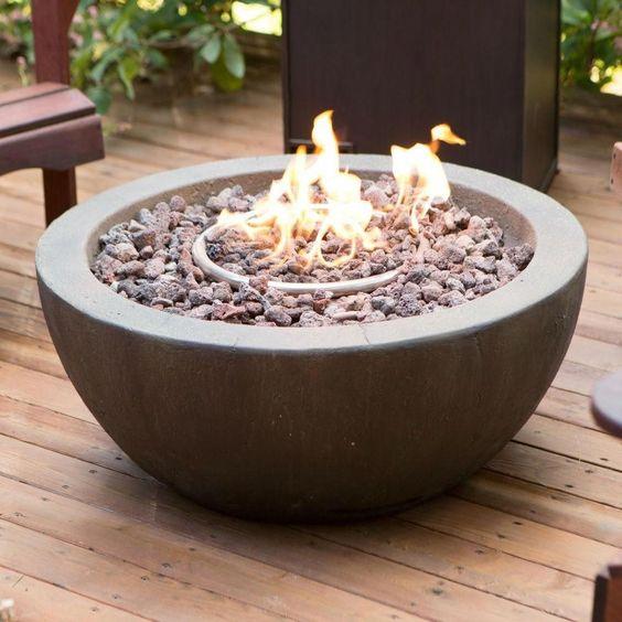 Fire Pit Garden Design Gas Firepit Fire Pit Outdoor Fire Pit