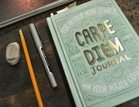 Carpe Diem Journal, by @Mary Kate McDevitt