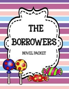 The Borrowers ( by Mary Norton) Novel Study and Activity Packet