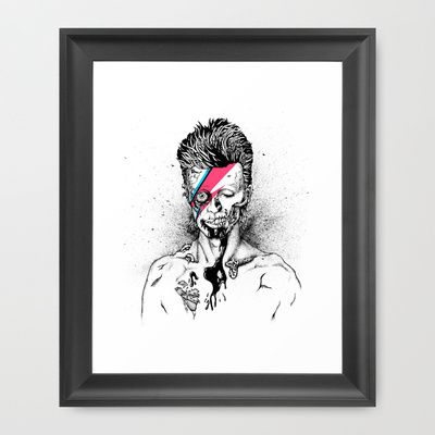Zombowie Framed Art Print by Daryll Peirce - $32.00