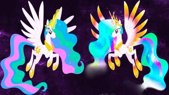 My Little Pony Transforms Mane 6 Princess Luna Celestia Rainbow Power Forms Coloring Book For Kids Youtube Little Pony My Little Pony Mlp My Little Pony