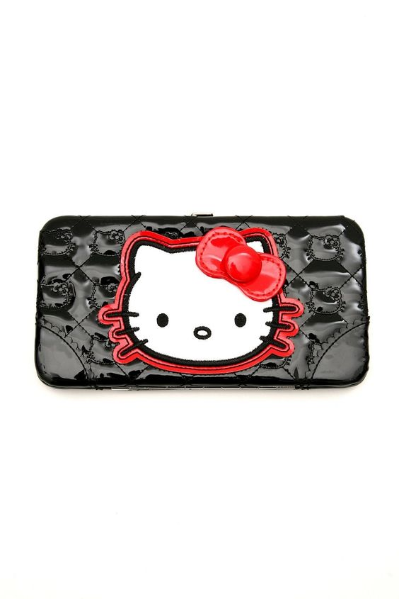 Hello kitty wallet lindsey lu pinterest hello kitty and