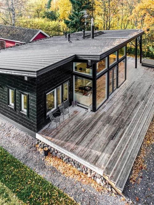 These Log Cabins From Finland Are Surprisingly Sleek In 2020 Home Building Design Building A House Small Log Cabin