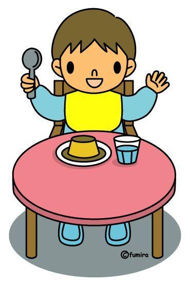 Resultado de imagen para niños comiendo dibujo a color