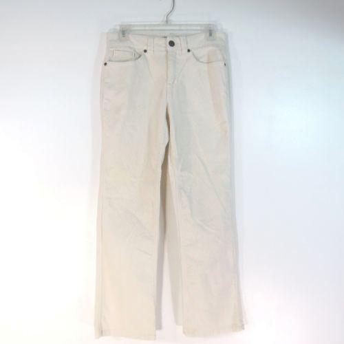 Bass Jeans Corduroy White Ivory Pants Women S Size 2 My
