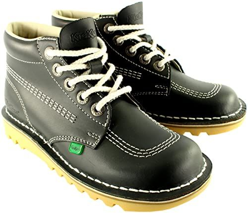 The Perfect Womens Kickers Kick Hi Patent Classic Oxfords Office Work Boots Shoes Fashion Womens Shoes 99 99 Clicktogreat Fr In 2020 Boots Kickers Shoes Shoe Boots