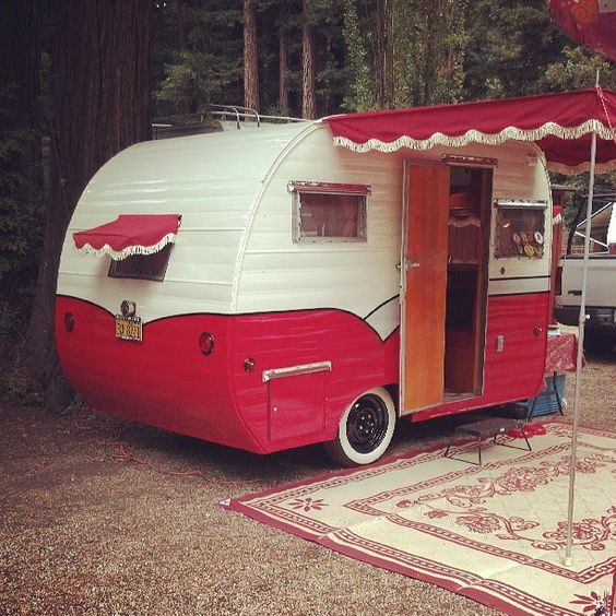 Mini Awnings Too And Fringe Eclectic Retrocampproject Pinterest Vintage