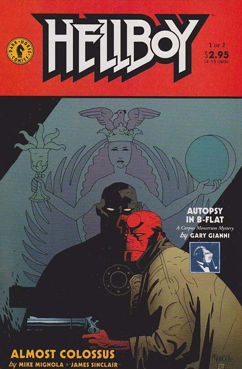 "#Hellboy works for the #BPRD , an international non-governmental agency, and himself against dark forces including Nazis and Baba Yaga , in a series of tales that have their roots in folklore , pulp magazines , vintage adventure, Lovecraftian horror and horror fiction . In earlier stories, he is identified as the ""World's Greatest Paranormal Investigator."""