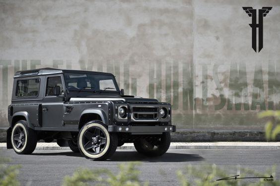 """Land Rover Defender 105 Longnose """"Flying Huntsman"""" By A. Kahn Design"""