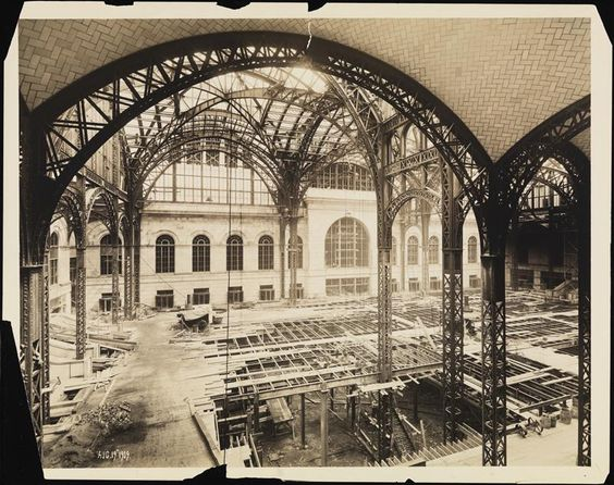 Madison Square Garden The Originals And Under Construction On Pinterest