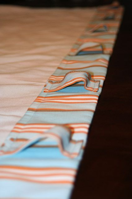 Different Way To Hang Curtains Tabs On Back For The