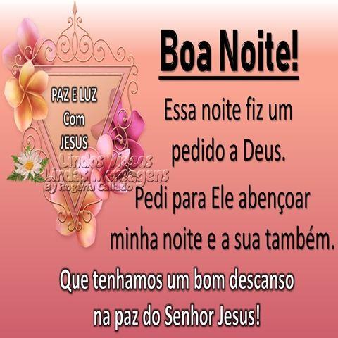 Boa Noite Paz E Luz B Jpg 480 480 Com Imagens Mensagem