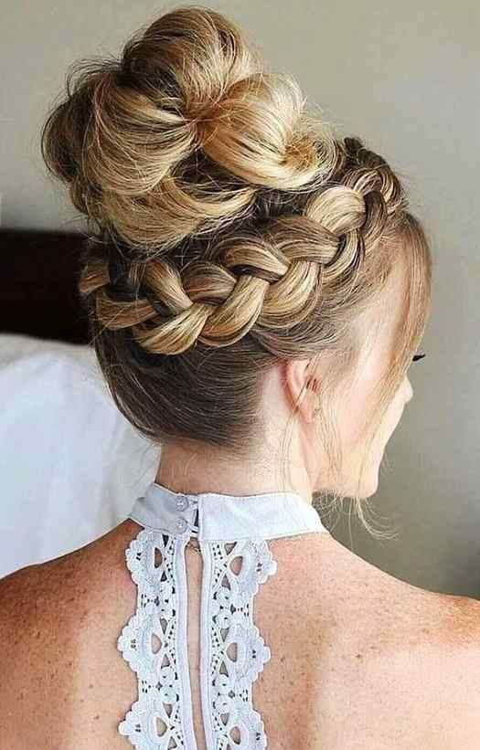 Cool Bun Hairstyles For Brides Maid Hairstyles 2020 In 2020 Long Hair Styles Hair Styles Bun Hairstyles