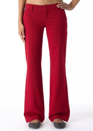 Just ordered these in this color (awesome sale price and sizing)! Hope they won't be too long because I am in love with them!