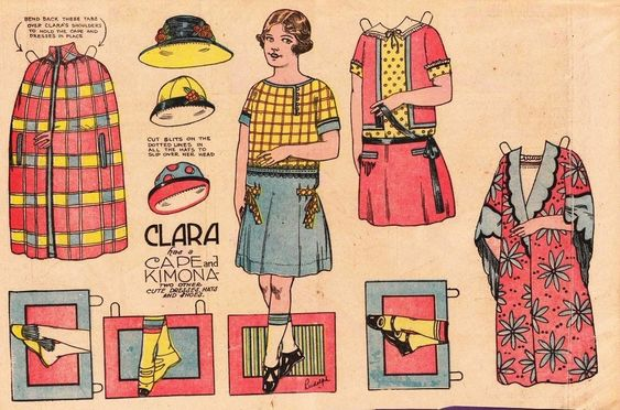 The Paper Collector1500 free paper dolls international artist and writer Arielle Gabriel's The International Paper Doll Society free paper dolls for Pinterest pals *