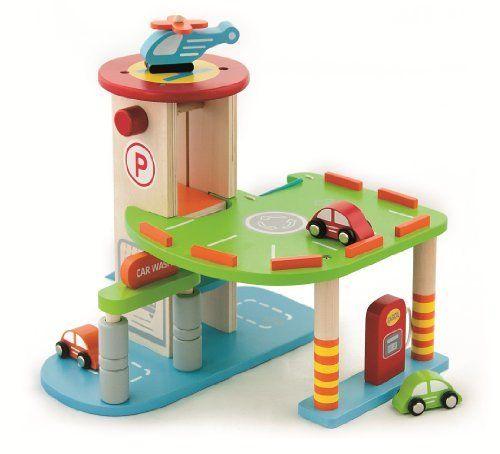 Viga Wooden Car Parking Garage #59963 by Viga, http://www.amazon.co.uk/dp/B00BRZ0BN8/ref=cm_sw_r_pi_dp_B2wzsb07C968R