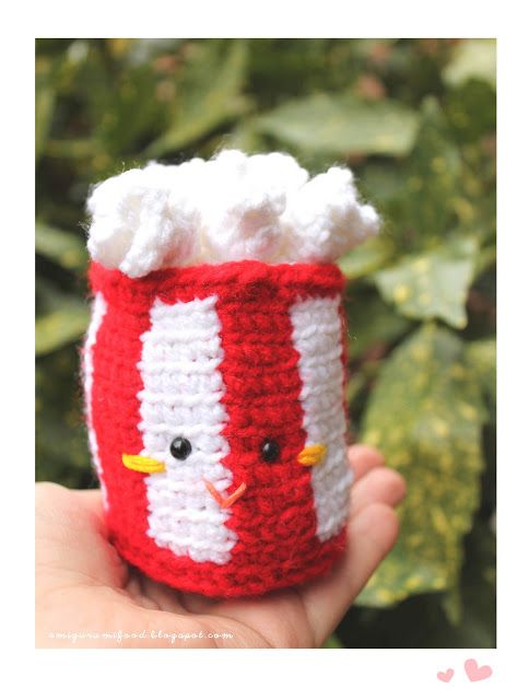 FREE Popcorn Amigurumi Crochet Pattern and Tutorial by ...