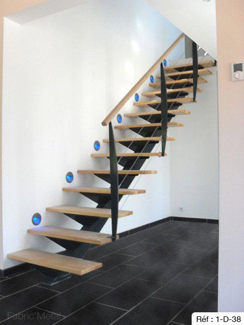 Fabricant Escalier Droit Bretagne Vannes Lorient Rennes