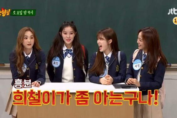 """Watch: gugudan's Kim Sejeong, Oh My Girl's Seunghee, T-ara's Hyomin, And More Are The Ultimate Girl Group In """"Ask Us Anything"""""""