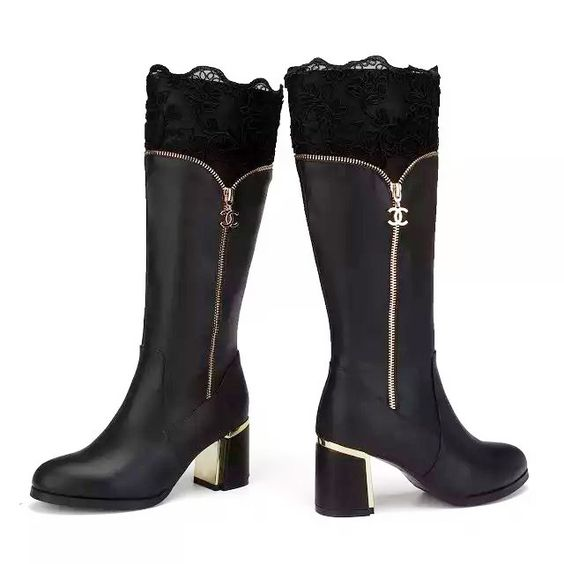 Buy CHANEL ST15001 35-40,Women Long Short Snow boots Long boots ...