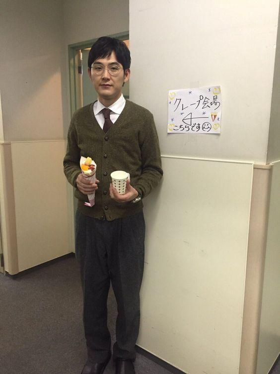 松田龍平のカーディガン