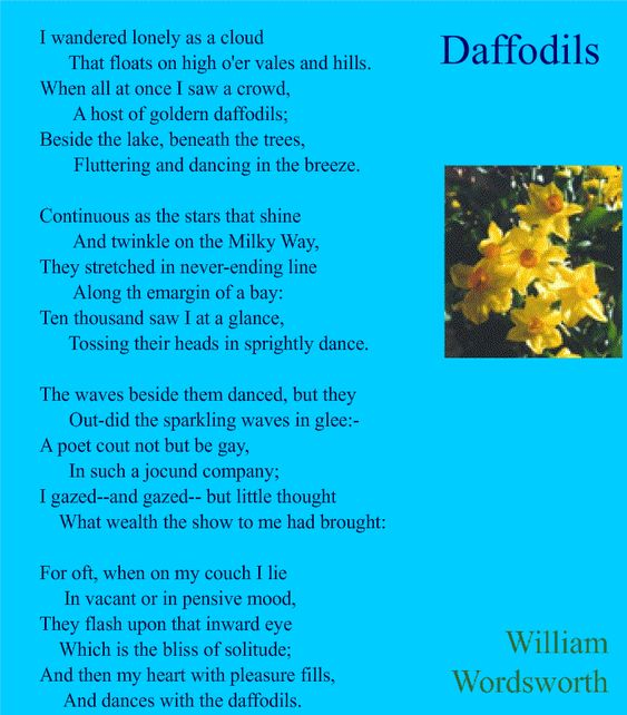 william wordsworths poetry essay Its an analzis of a poem by william wordsworth -jennifer laskyms grantenglish 10 per 6april 7, 1997the solitary reaperby william wordsworth (1770-1850)the solitary.