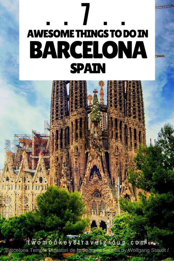 7 Awesome Things to Do in Barcelona, Spain  Barcelona is the cosmopolitan capital of Spain's Catalonia region and is overflowing with culture so rich that dates back from many years before.    It is also filled with interesting tales from its hundreds of years history and has produced fine artist over the years. There are almost endless of interesting things to do in Barcelona and all you need is enough time to see these all. From art to food and from architecture to its festivals.